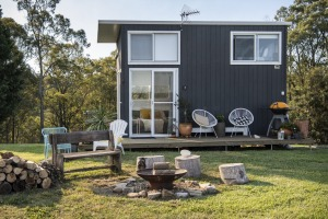 TRAVEL: Margo Keegan's Tiny House in Freemans Reach is available for rent. 21st April 2021, Photo: Wolter Peeters, The ...