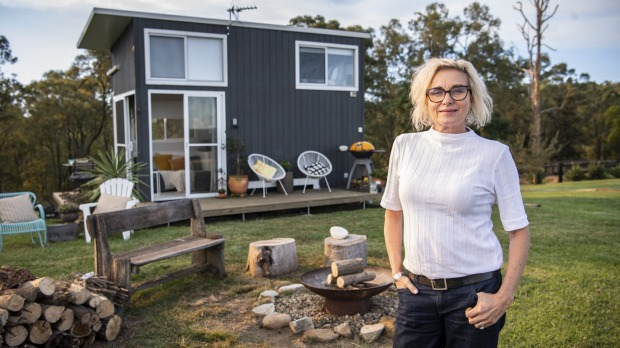 'COVID changed everything,' says Margo Keenan, who installed a tiny home on her Malniri Park thoroughbred horse farm at ...