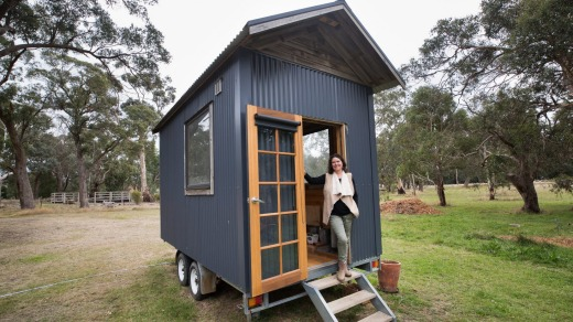 'It's become so busy,' says Vanessa Jeffcoat of her Ardingly Tiny House.