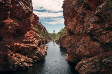 Ellery Creek. The MacDonnell Ranges that flank Alice Springs are riddled with gorges that – given enough rainfall – ...