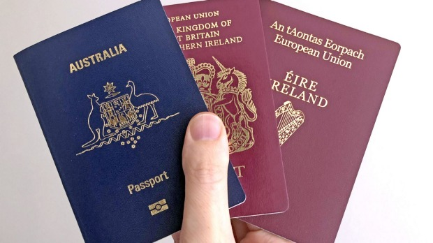 Pick a passport, any passport: Getting citizenship through your parents or grandparents is possible for many Australians.