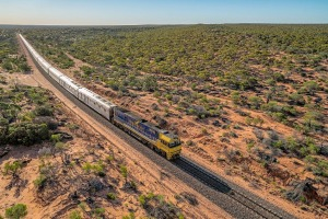 On board the Indian Pacific with My Holiday Centre