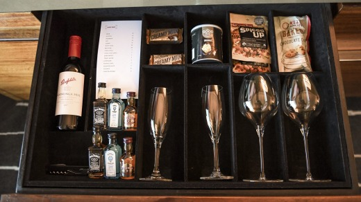 Traditionally business travellers have made more use of minibars than tourists.