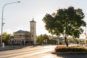 The town of Cootamundra.