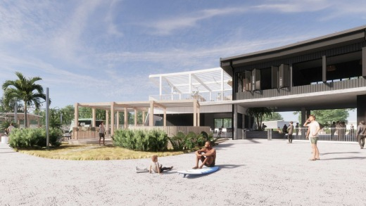 The park will also have a rooftop bar, yoga studio, leisure pool, a surf academy staffed with expert coaches, beach ...