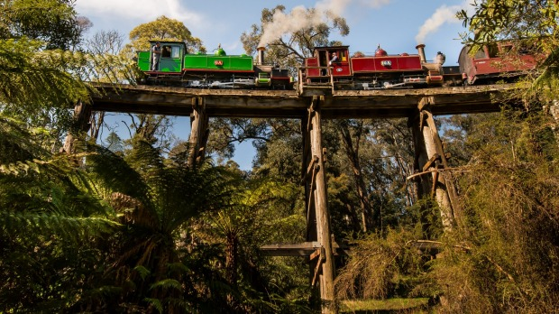 Puffing Billy, Dandenong Ranges, Victoria.