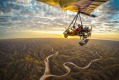 David Whitley piece on Novelty Transport Traveller one time use only Broome microlight