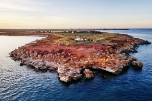 Aerial view of Gantheaume Point, Broome xxbroomewa broome wa six of the best ; text by Brian Johnston ; SUPPLIED via ...