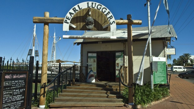 The Pearl Luggers, home to a unique display of Broome's pearling history, located in Broome's Chinatown.