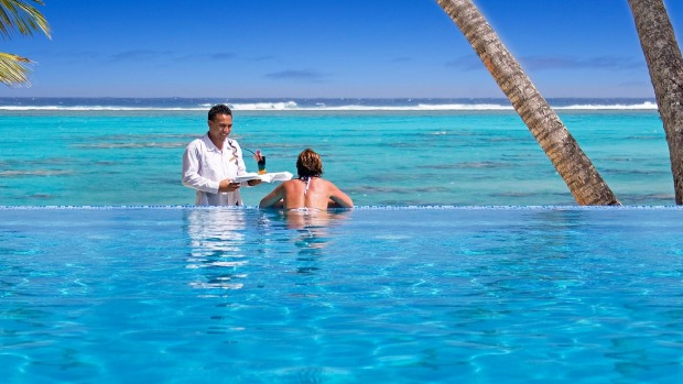 Little Polynesian Resort, a member of the Small Luxury Hotels of the World, in Rarotonga.