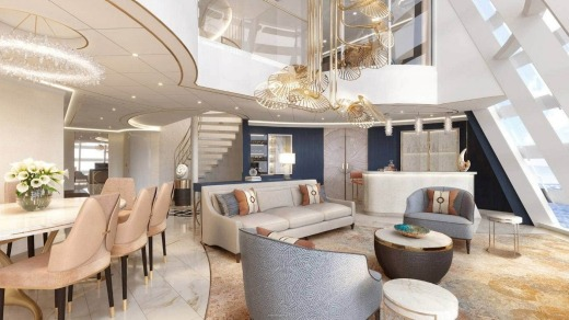 The Wish Tower Suite is a 182.6 square-metre penthouse (artist's rendering).