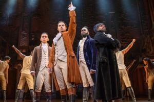 Hamilton is just as roaring, rousing a night out as you hoped for, performed by an all-local cast.