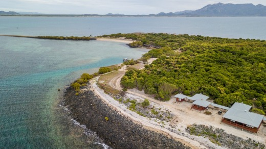 If you want to stay, you can only rent the entire island at $1800 a night (or $225 per person if you bring seven mates).