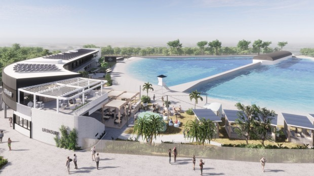URBNSURF's new surf park will be set on 3.6 hectares and will generate a wave every eight seconds.