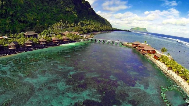 Aga Reef Resort in Samoa with Spacifica.