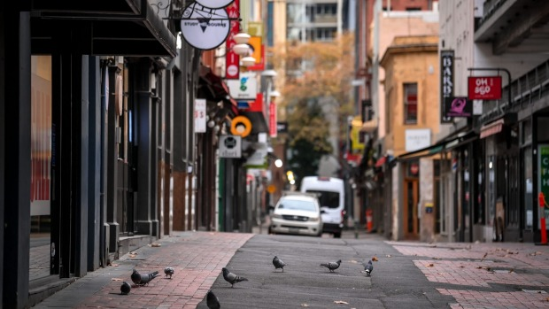 Melbourne's CBD has been deserted since the latest lockdown began.