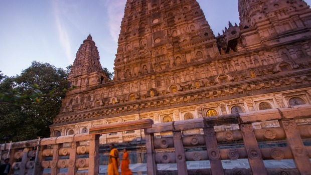Bodh Gaya, in the north-east Indian state of Bihar, is where Buddha achieved enlightenment.