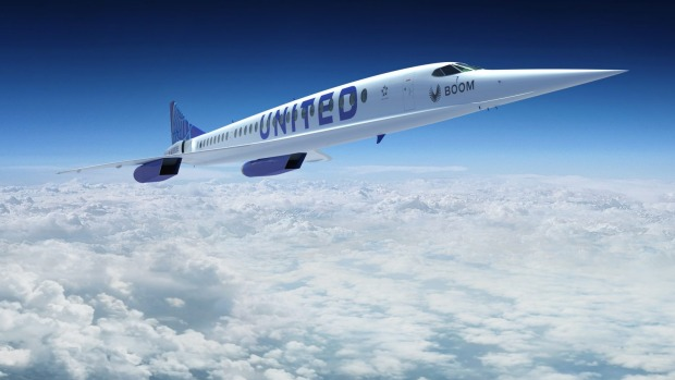 The planes haven't been built yet, but Boom says they will fly at 1.7 times the speed of sound, or around 2,092km/hr.