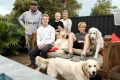 Mitch Smith and wife Nicky will take their sons Aiden, Archie and Jordan out of school early in order to avoid the ...