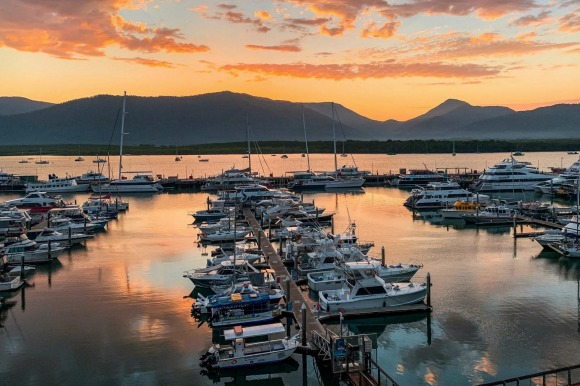 Escape the cold in Cairns.