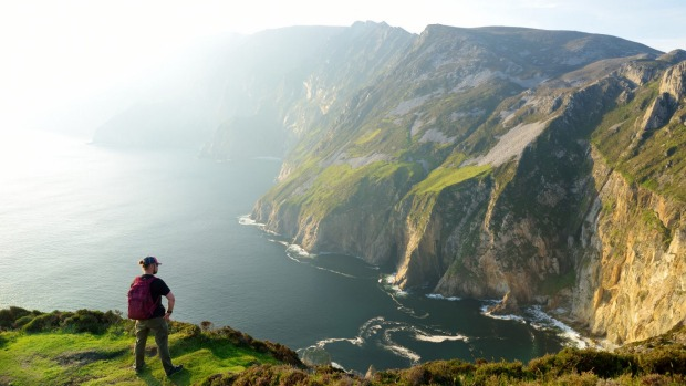 """Christian O'Connell dreams of visiting Ireland. """"I'm 50 in two years' time and my dream is to be on a hiking tour of ..."""