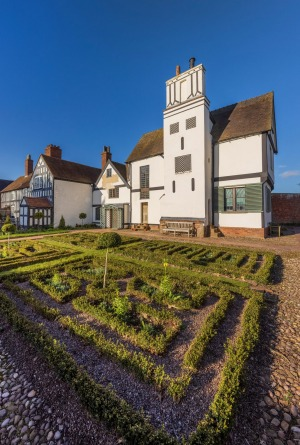 Boscobel House in Shropshire where King Charles II famously hid in an oak while being pursued by Oliver Cromwell's ...