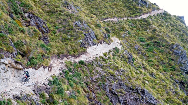 The Old Ghost Road in New Zealand.