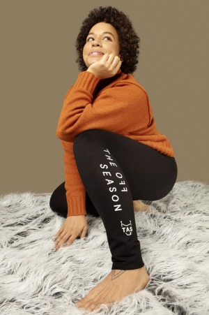 The merino wool long johns will also be given out at Hobart Airport on July 2.