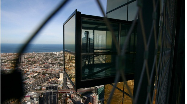 The Edge at the Eureka Tower. Melbourne's Eureka Tower is one of the tallest buildings in Australia ... but is it the ...