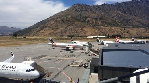 The number of flights into Queenstown from Australia is set to triple over winter.