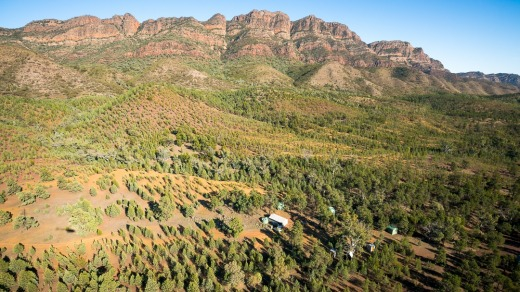 Wild Bush Luxury works with Australian Wildlife Conservancy and operates Arkaba homestead (pictured), the Arkaba Walk ...