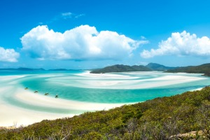 Chill out on world-famous Whitehaven Beach.