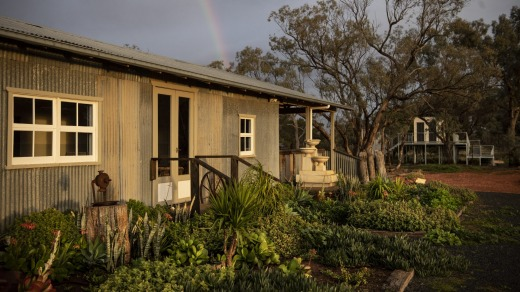 Callubri Station in Nyngan. The former shearer's quarters is now an lounge and event space.