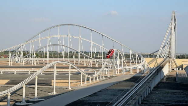 This is the world's fastest roller coaster. Where is it?