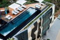 The rooftop pool at the Crystalbrook Vincent, Brisbane.