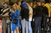 Londoners queue for entry at a nightclub on Saturday after England lifted its remaining COVID-19 restrictions