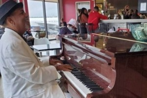 Tonee Valentine has been playing the piano since he was five years old.