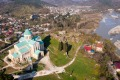 Panoramic view of Kutaisi center with Bagrati Cathedral, Imereti region of Georgia Unesco world heritage sights for ...