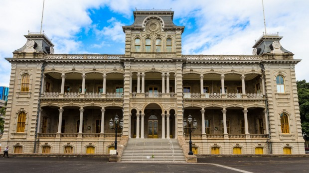 This is the only royal palace in the United States. Which state is it in?