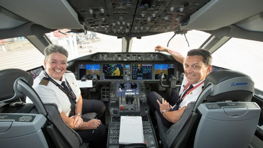 The airline is also auctioning a simulator session with Qantas' chief technical pilot, Alex Passerini, or fleet ...