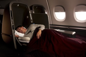 Qantas will auction off two Skybeds previously used on board an Airbus A380.