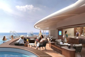 The ship will feature several adults-only zones and experiences.
