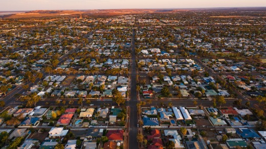 Around 100,000 people directly benefit from the pipeline, only 30,000 of whom live in Kalgoorlie (pictured).