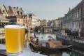Brew with a view: Beer is an ancient tradition in Belgium.