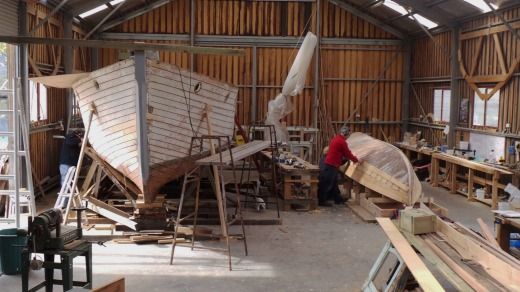 The Wooden Boat Centre.