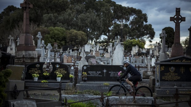 Opened in 1853, Melbourne General is the final resting place of many of the city's notable citizens.