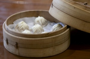 Steamed pork dumplings at Din Tai Fung in Causeway Bay. 21APR17  SCMP / Xiaomei Chen     [05MAY2017 FEATURES FOOD ...