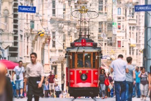 Red trams trundle along Istiklal Caddesi, the city's long, narrow and notoriously crowded avenue-cum-pedestrianised ...