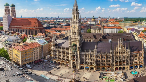 The Bavarian city we call Munich is called München in German.