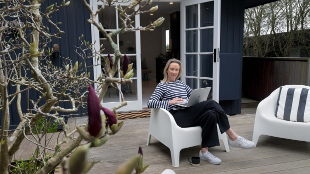 Kate Askew, owner of Nord House at Red Hill on the Mornington Peninsula.